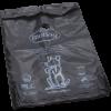 Dog waste Black bag