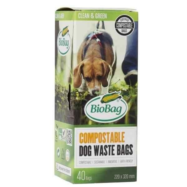 box of Compostable dog waste bag