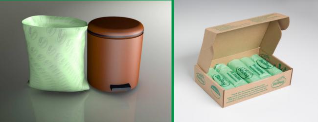 6 Litre Compostable Bio bags