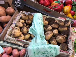 Compostable Fruit & Vegetable Produce Bags for shops and retailers